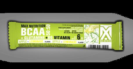 BCAA+Glutamine 50:50 Stick - Zöldalma-Limonádé ízben - 6g