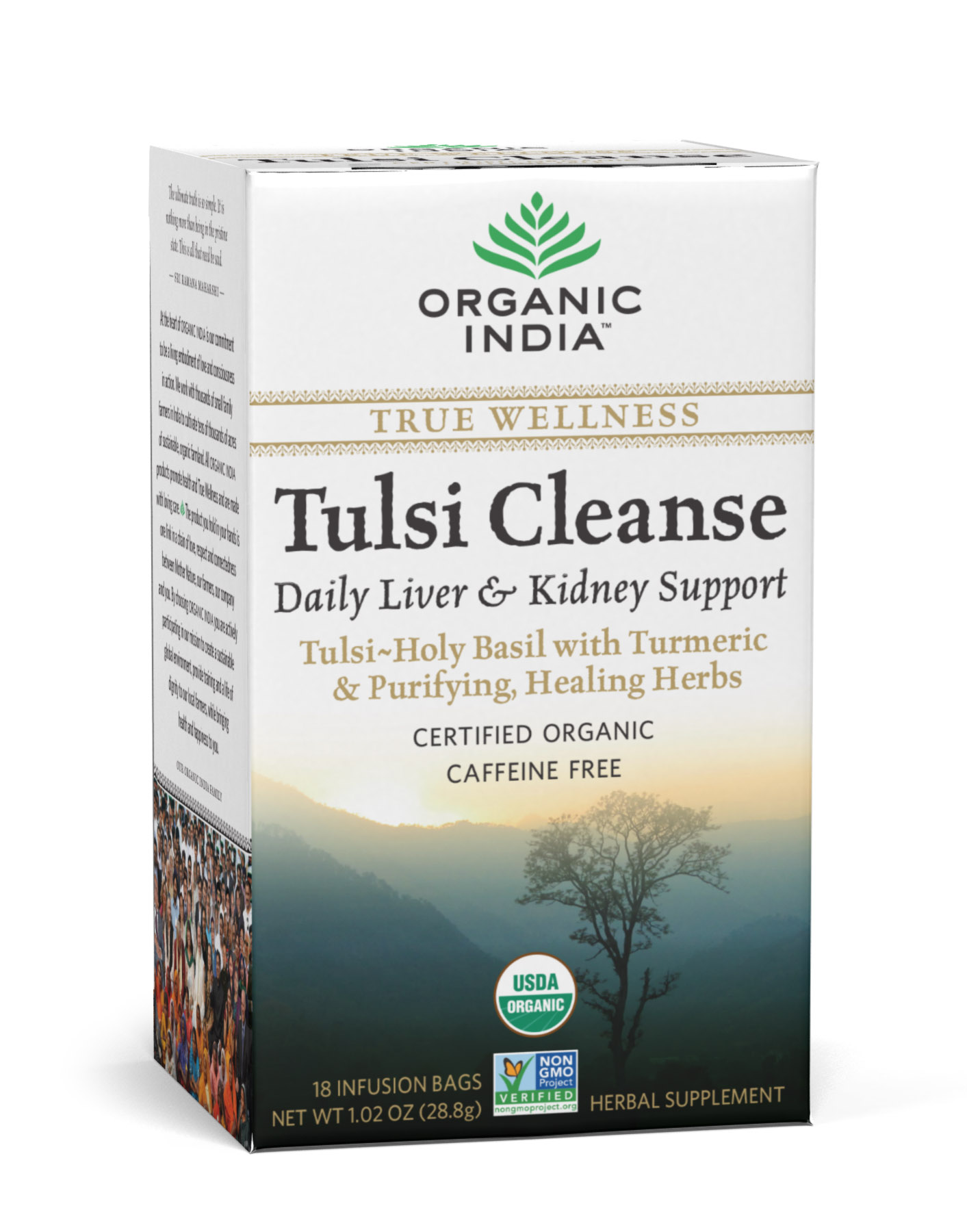 Tulsi Cleanse - filteres tea, 18 db filter