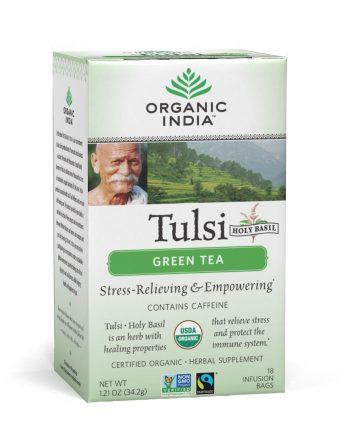 Tulsi zöld tea - filteres tea, 18 db filter