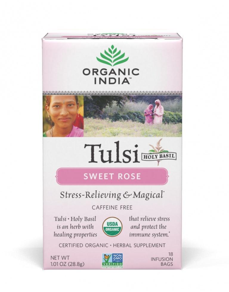 Tulsi édes rózsa - filteres tea, 18 db filter