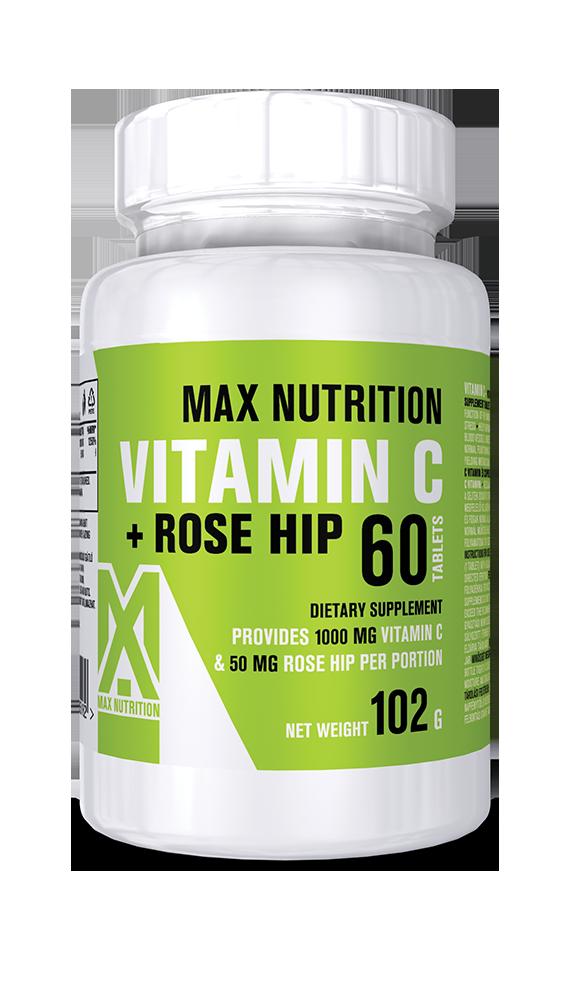 C-vitamin 1000mg - csipkebogyó kivonattal
