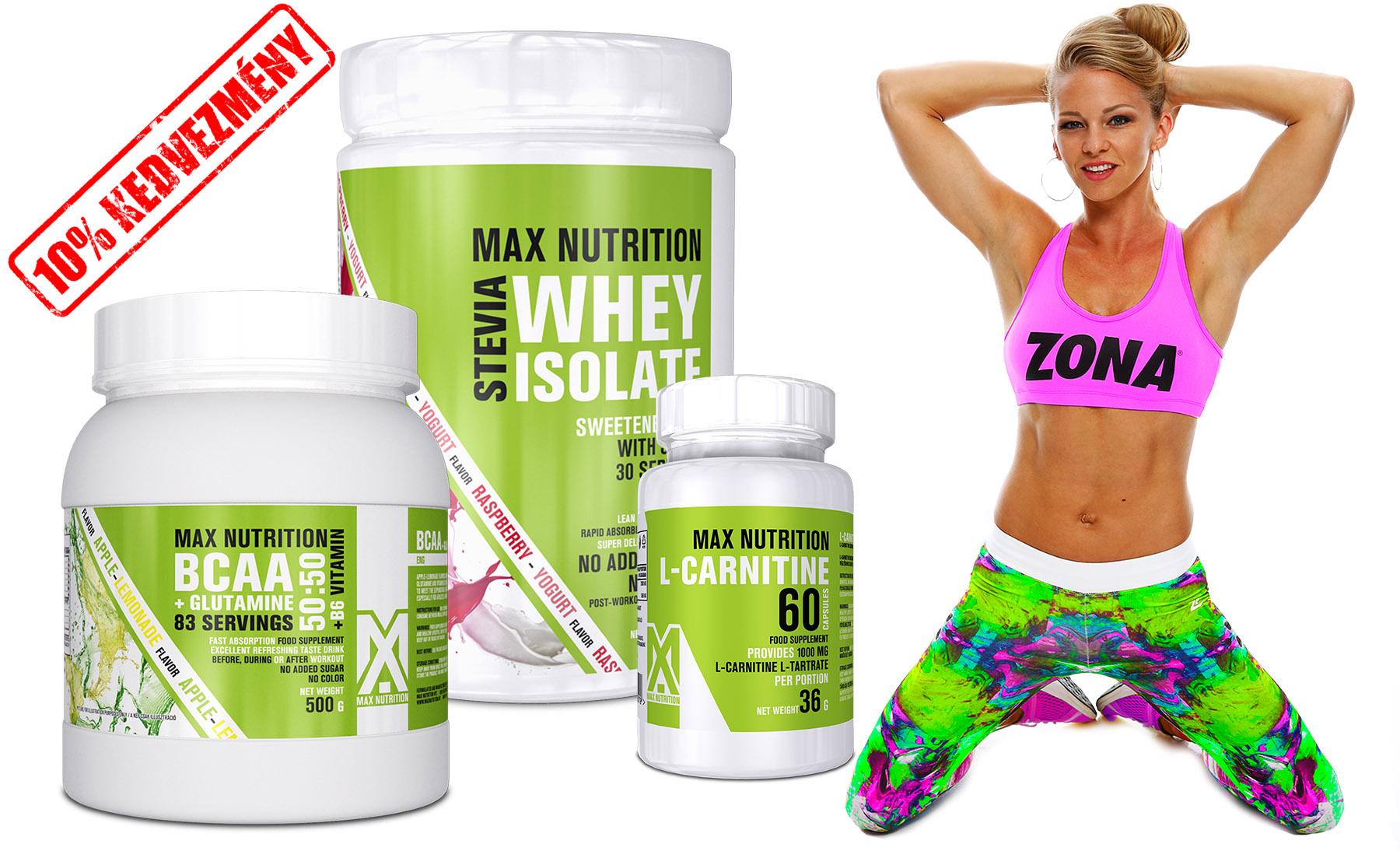 MAX ZONA - szálkásító csomag Péntek Enikő ajánlásával